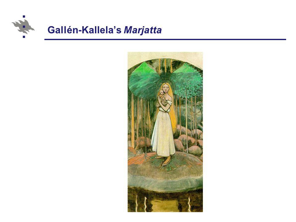 Gallén-Kallela's Marjatta