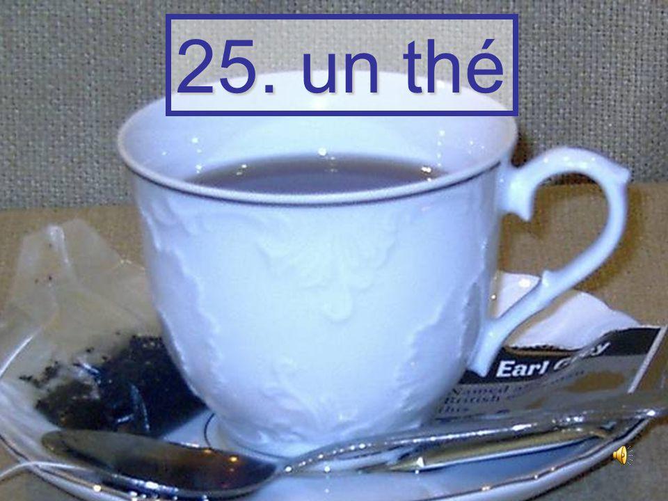 24. un chocolat chaud