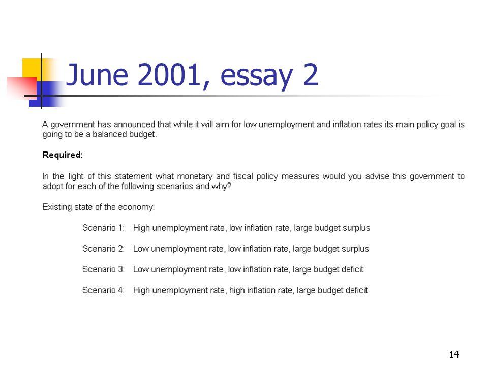 14 June 2001, essay 2