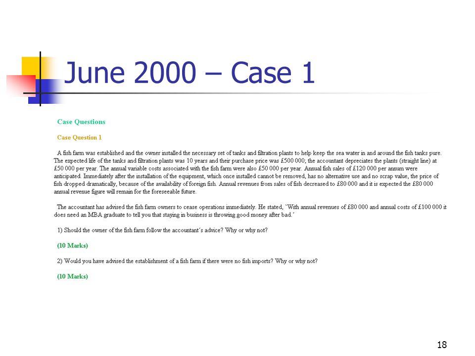 18 June 2000 – Case 1