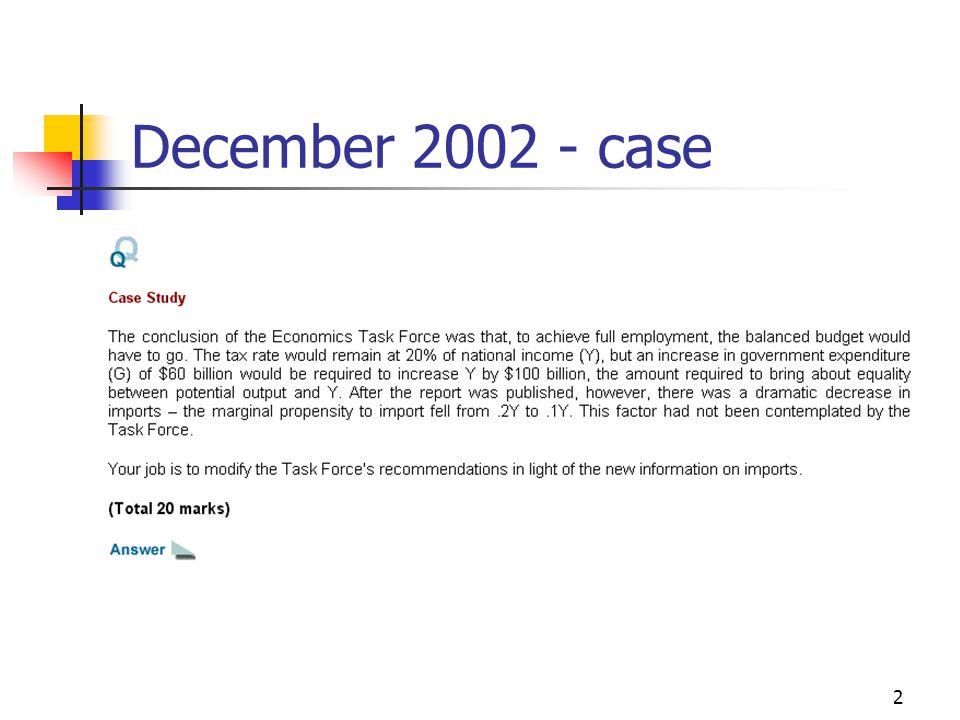 2 December 2002 - case