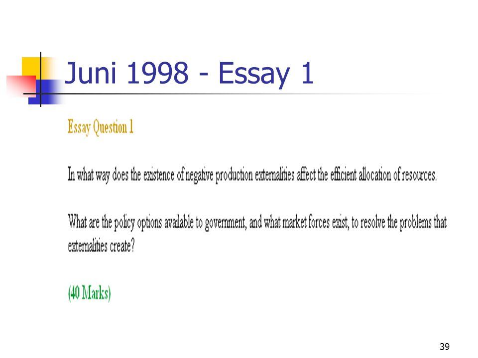 39 Juni 1998 - Essay 1