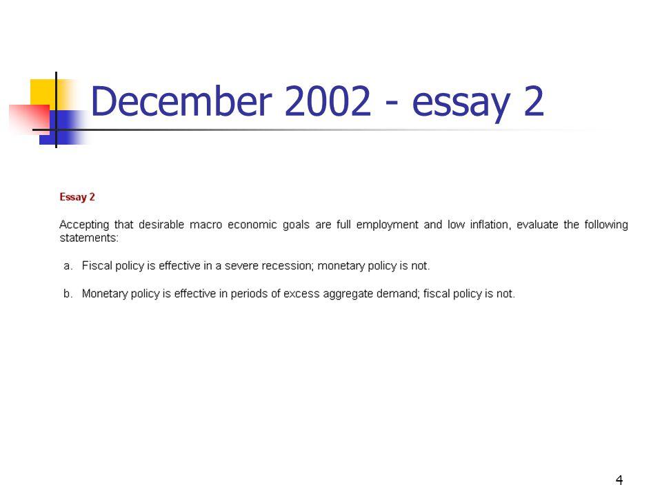 4 December 2002 - essay 2