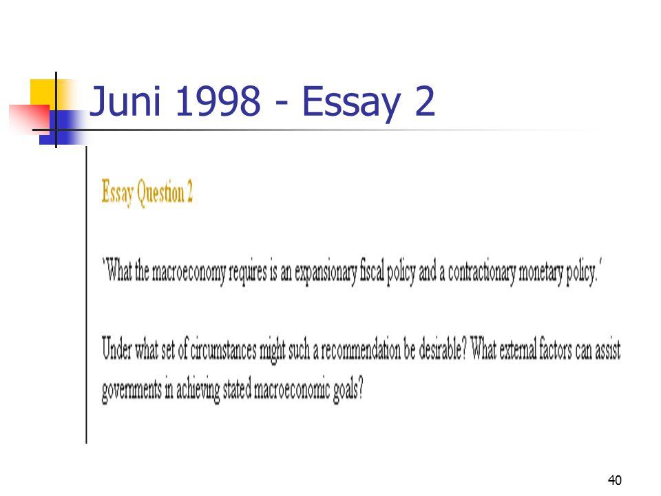 40 Juni 1998 - Essay 2