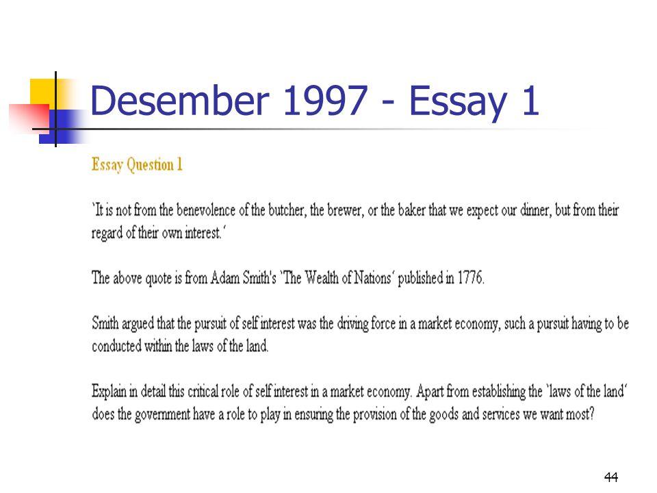 44 Desember 1997 - Essay 1