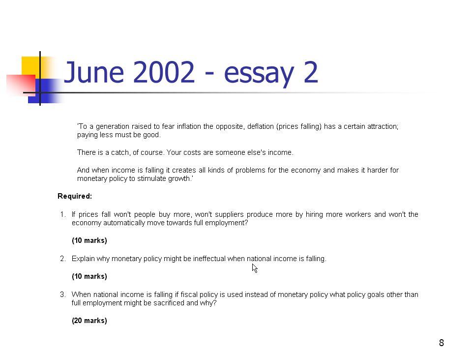 8 June 2002 - essay 2