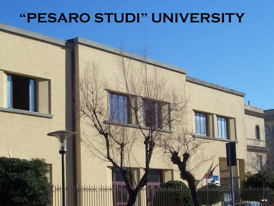 PESARO STUDI UNIVERSITY