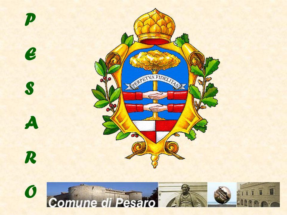 PESARO, A TOWN with 91,000 inhabitants, BETWEEN TWO HILLS MONTE ARDIZIO MONTE SAN BARTOLO