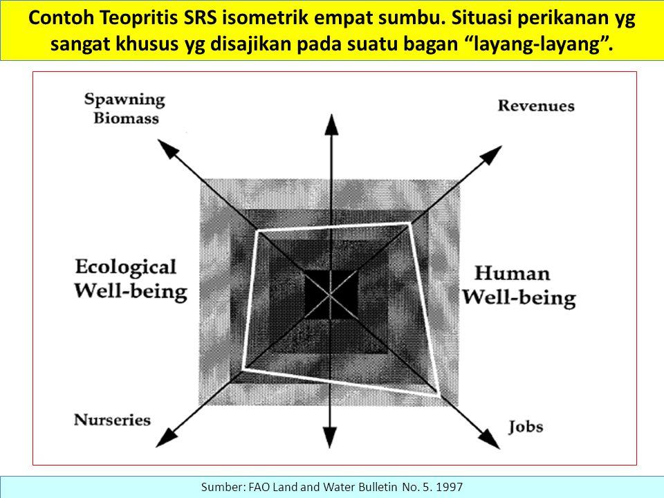 Contoh Teopritis SRS isometrik empat sumbu.