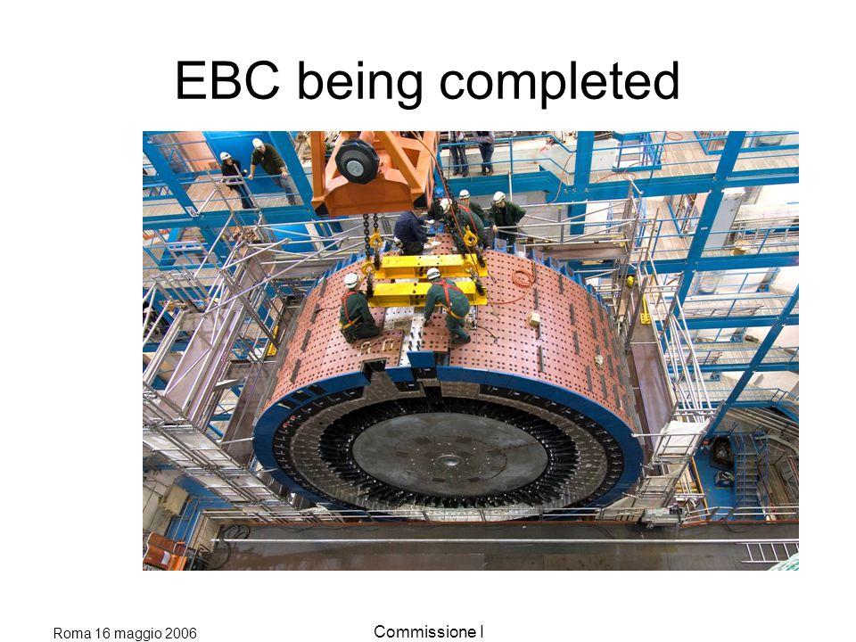 Roma 16 maggio 2006 Commissione I EBC almost in place