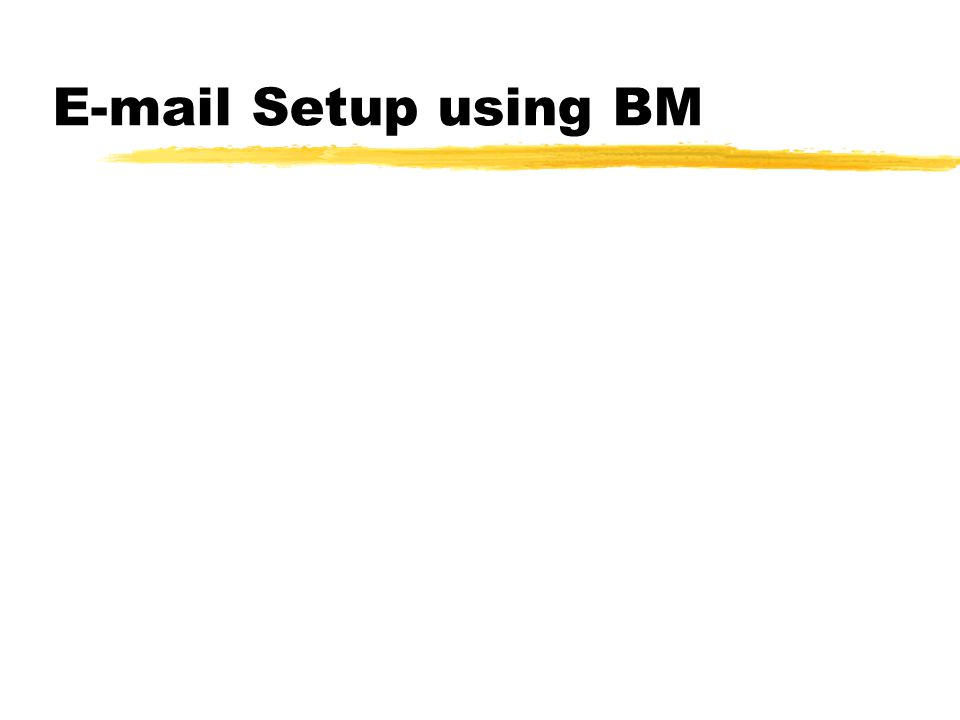 E-mail software for NOS zBdale Messy Mailer (BM.exe) zPCElm zInternal NOS BBS