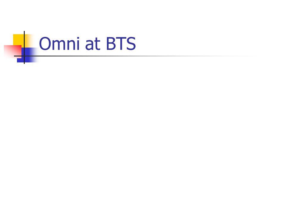 Omni at BTS