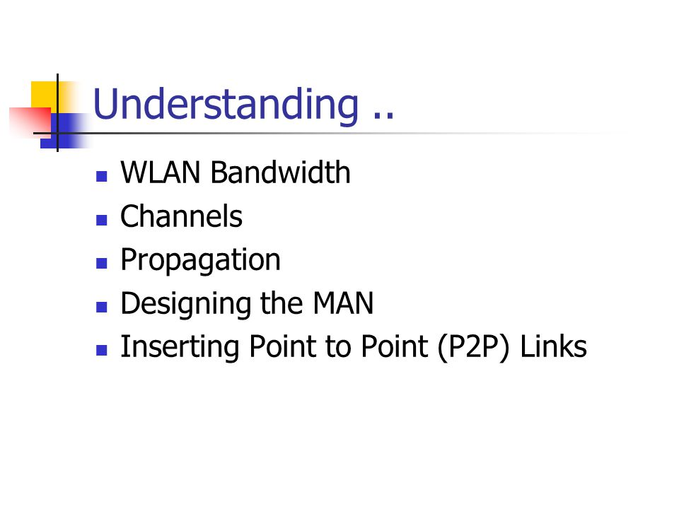 Understanding..