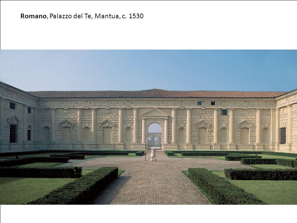 Romano, Palazzo del Te, Mantua, c. 1530