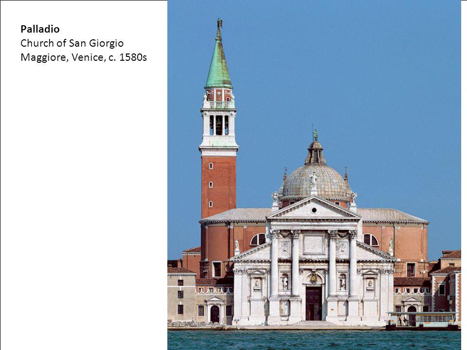 Palladio Church of San Giorgio Maggiore, Venice, c. 1580s