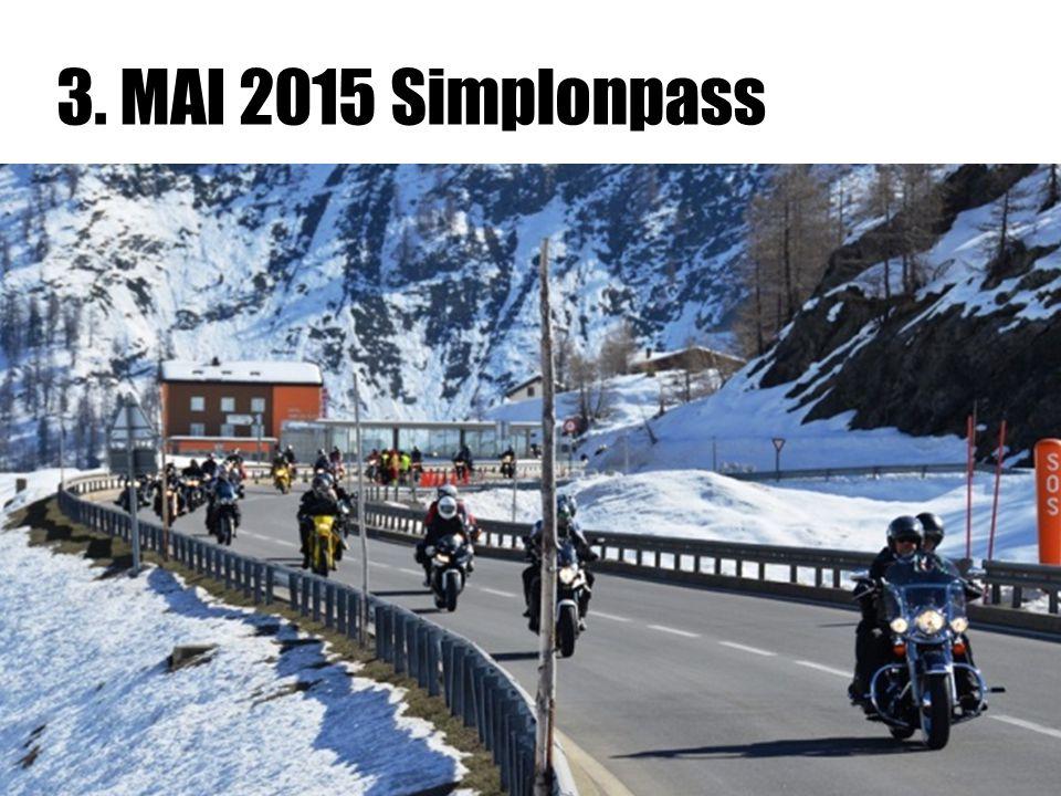 3. MAI 2015 Simplonpass