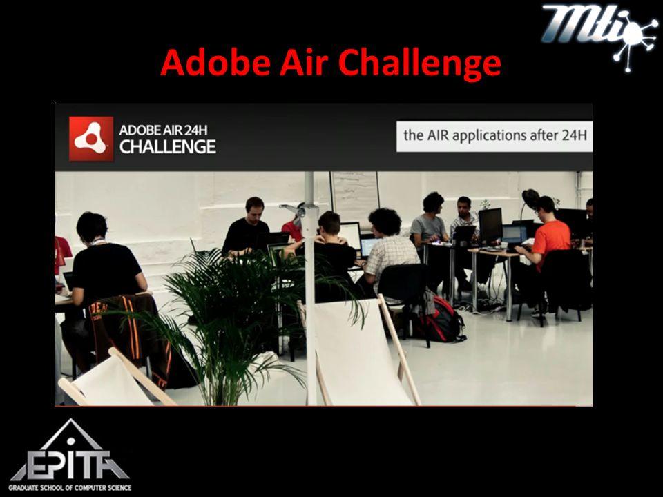 Adobe Air Challenge