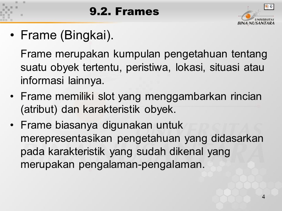 4 9.2. Frames Frame (Bingkai).
