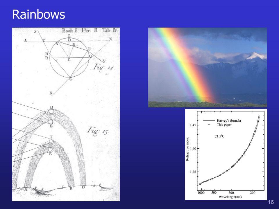 16 Rainbows