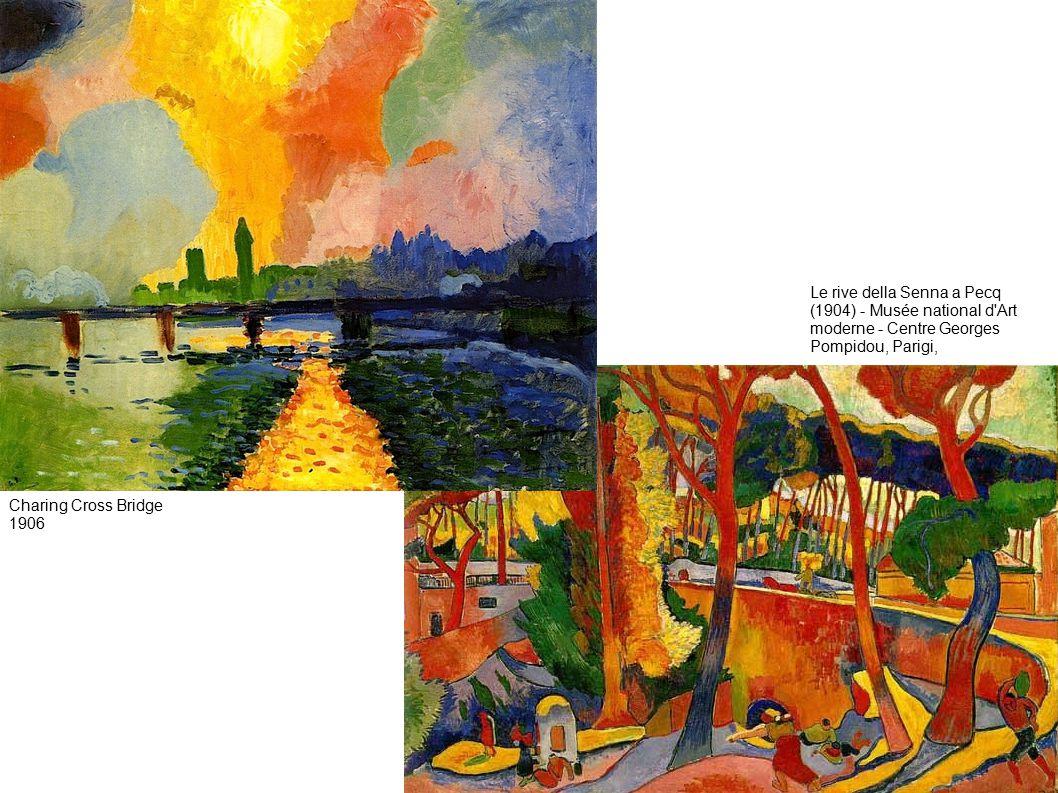 Le rive della Senna a Pecq (1904) - Musée national d Art moderne - Centre Georges Pompidou, Parigi, Charing Cross Bridge 1906
