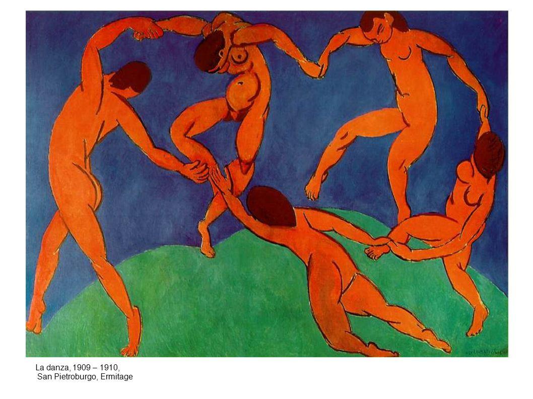 La danza, 1909 – 1910, San Pietroburgo, Ermitage