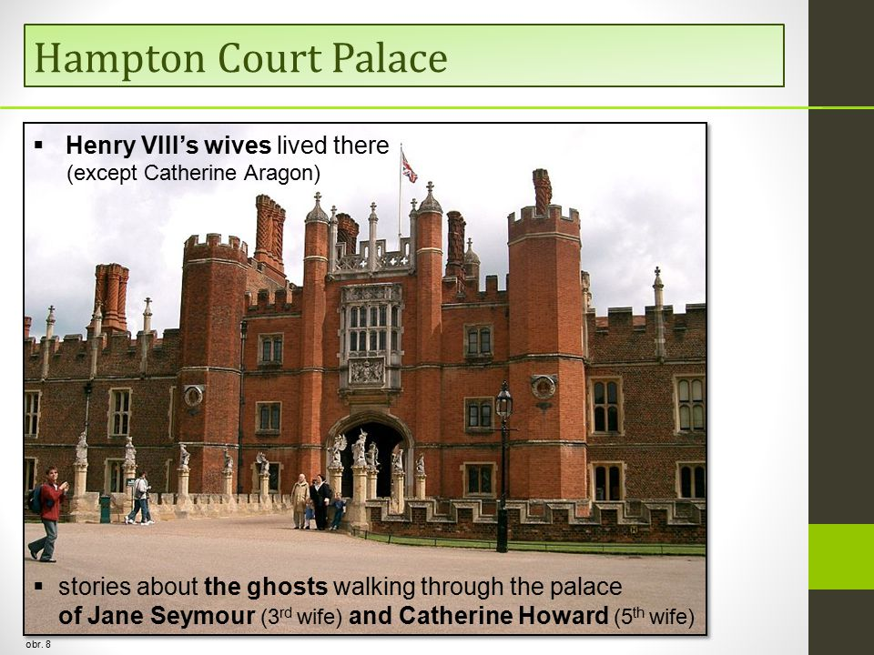 Hampton Court Palace obr.