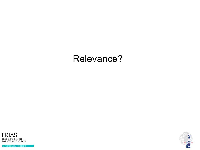 Relevance?