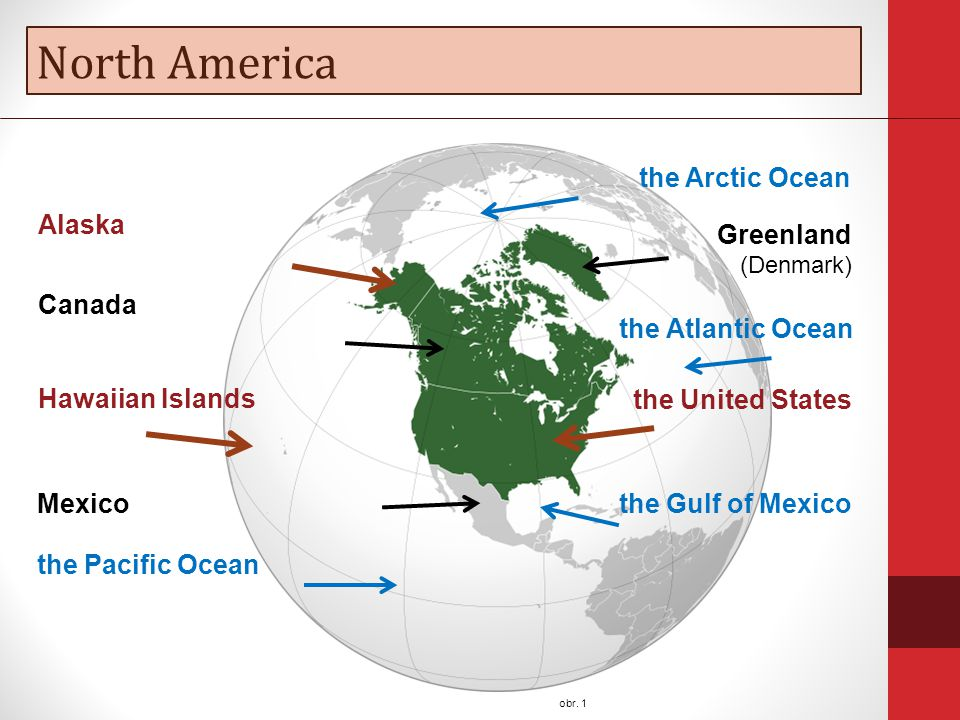 North America obr.