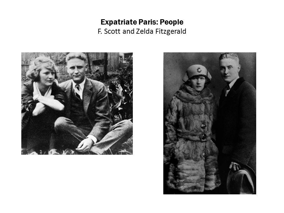 Expatriate Paris: People F. Scott and Zelda Fitzgerald