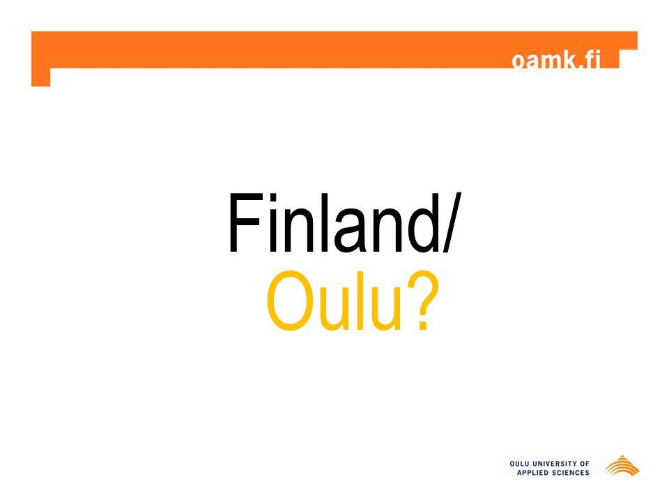 Finland/ Oulu