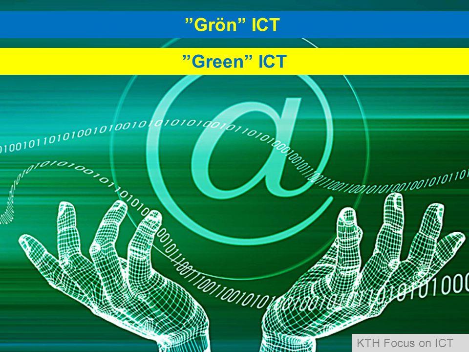 Grön ICT Green ICT KTH Focus on ICT