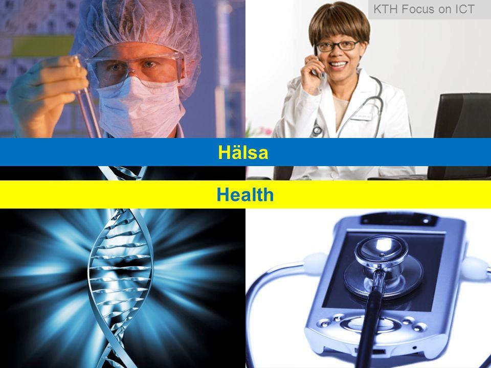 Hälsa Health KTH Focus on ICT