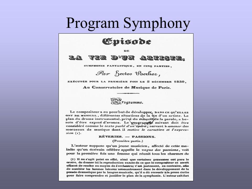 Program Symphony