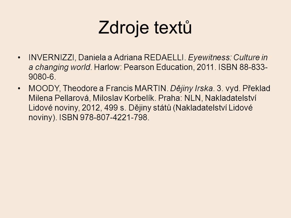 Zdroje textů INVERNIZZI, Daniela a Adriana REDAELLI.