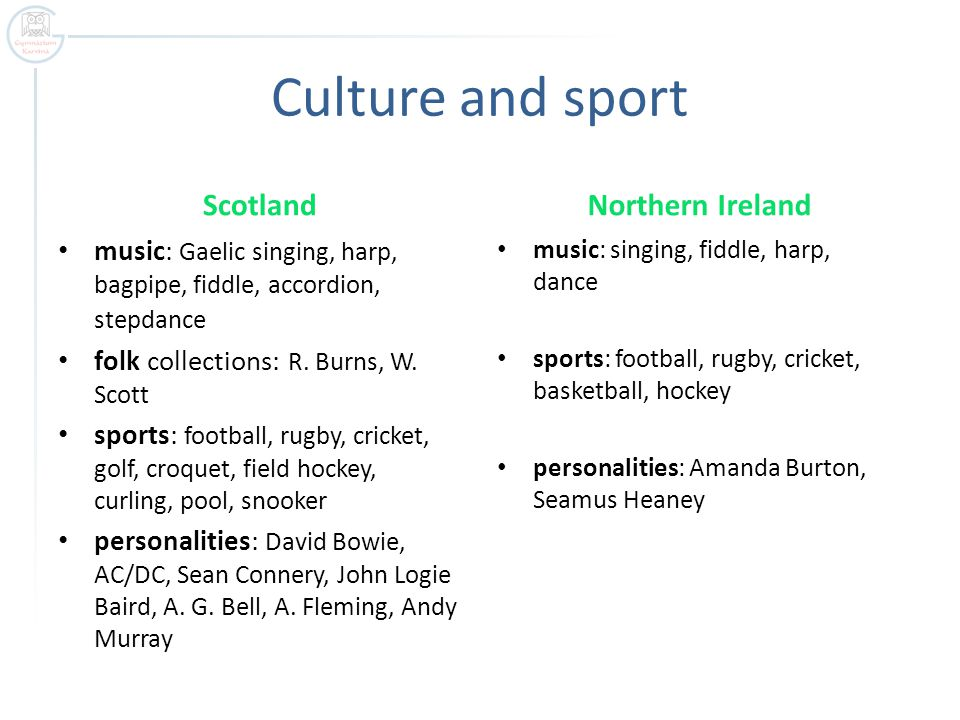 Culture and sport Scotland music: Gaelic singing, harp, bagpipe, fiddle, accordion, stepdance folk collections: R.