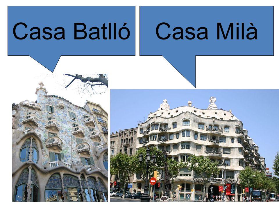Casa MilàCasa Batlló