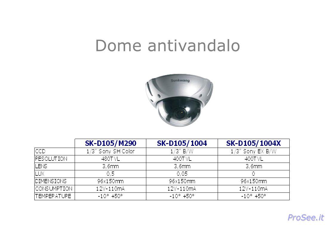 Dome antivandalo ProSee.it