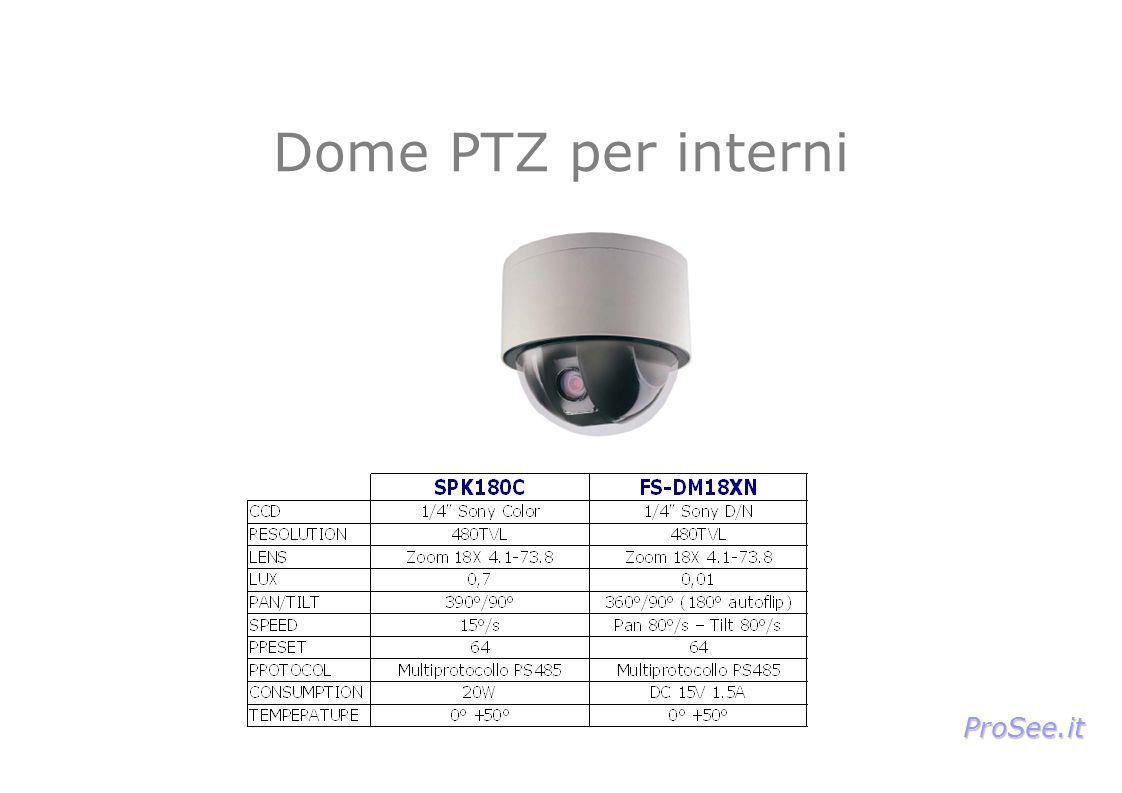 Dome PTZ per interni ProSee.it