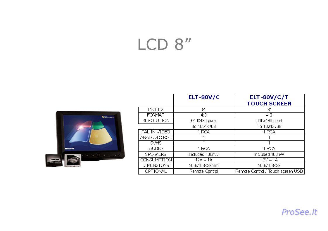 LCD 8 ProSee.it