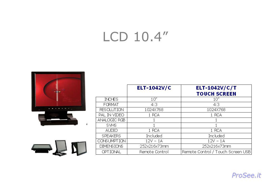LCD 10.4 ProSee.it