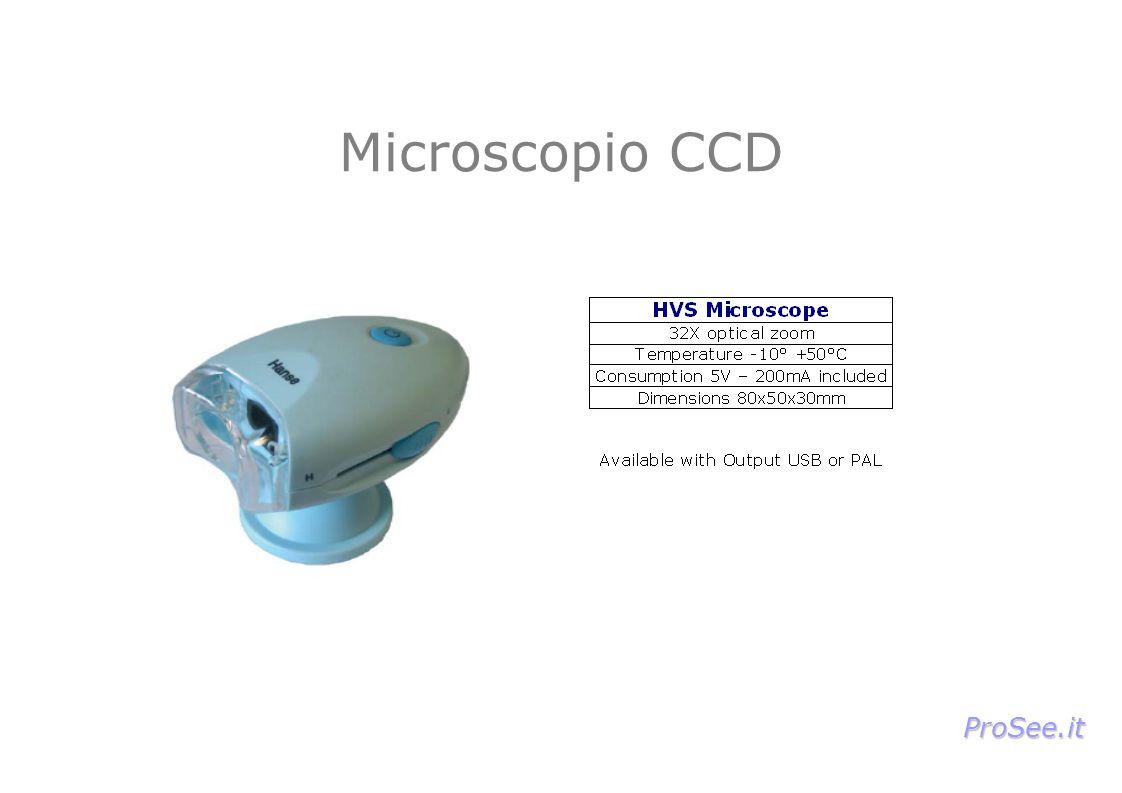 Microscopio CCD ProSee.it