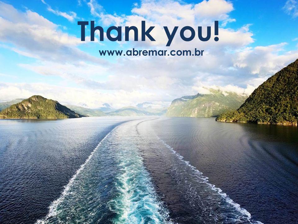 Thank you! www.abremar.com.br