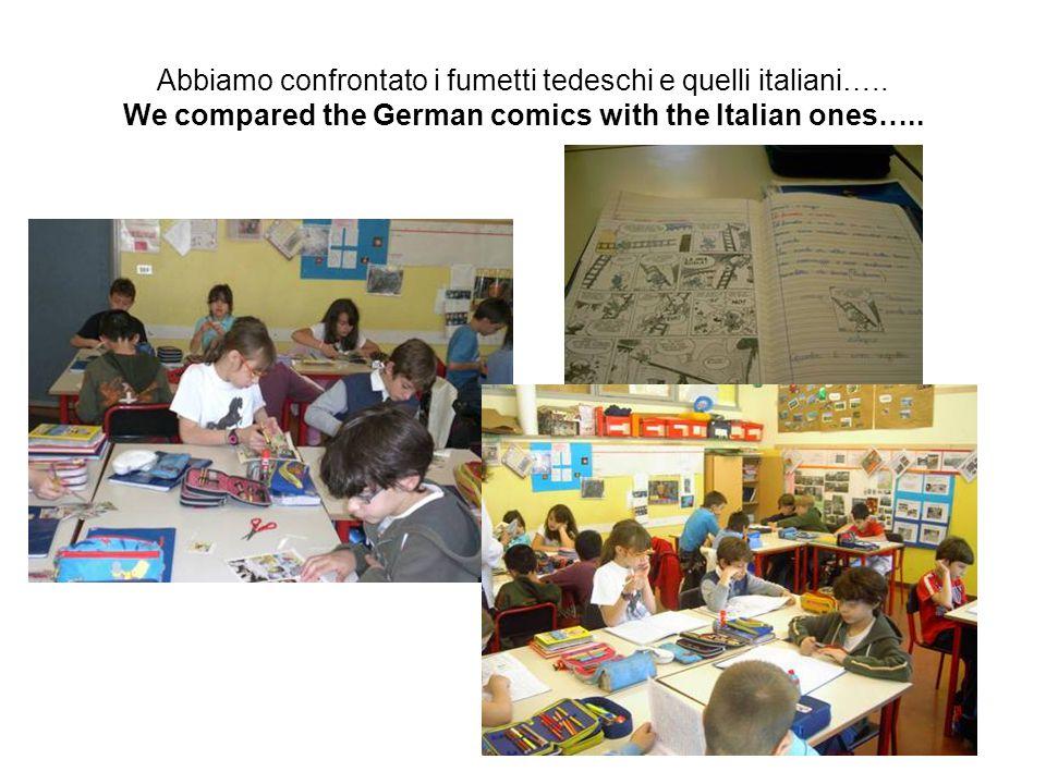Abbiamo confrontato i fumetti tedeschi e quelli italiani…..