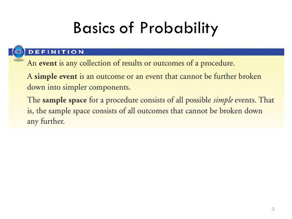 Basics of Probability 3