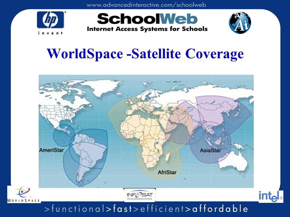 WorldSpace -Satellite Coverage