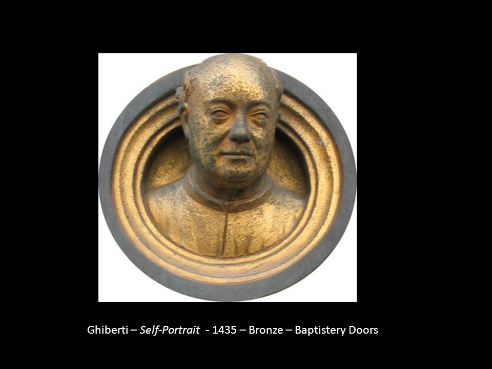 Ghiberti – Self-Portrait - 1435 – Bronze – Baptistery Doors