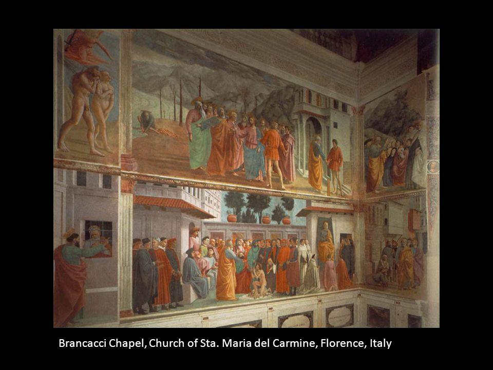 Brancacci Chapel, Church of Sta. Maria del Carmine, Florence, Italy