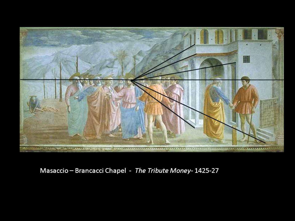 Masaccio – Brancacci Chapel - The Tribute Money- 1425-27