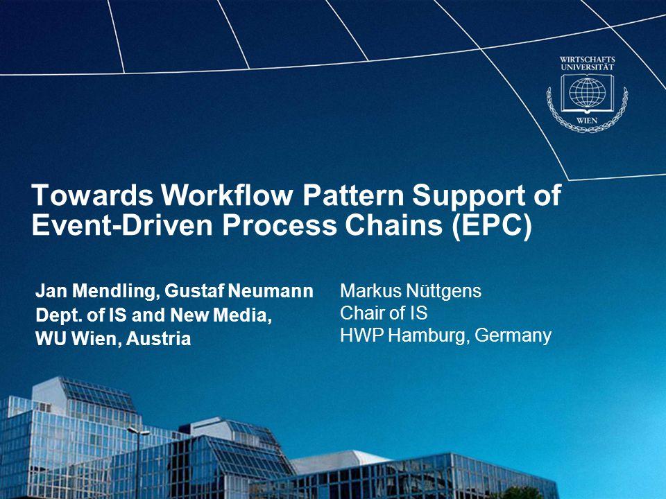 LV 1734 - Vertiefungskurs Neue Medien - Collaborative SystemsFolie 22 yEPCs in EPML