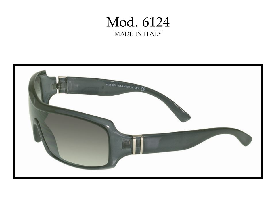 Mod. 6124 MADE IN ITALY